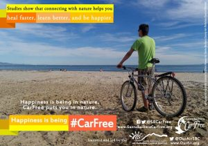 Hapiness is Being #CarFree
