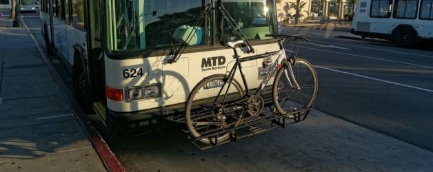 Bikes on Santa Barbara Metropolitan Transit District (MTD)